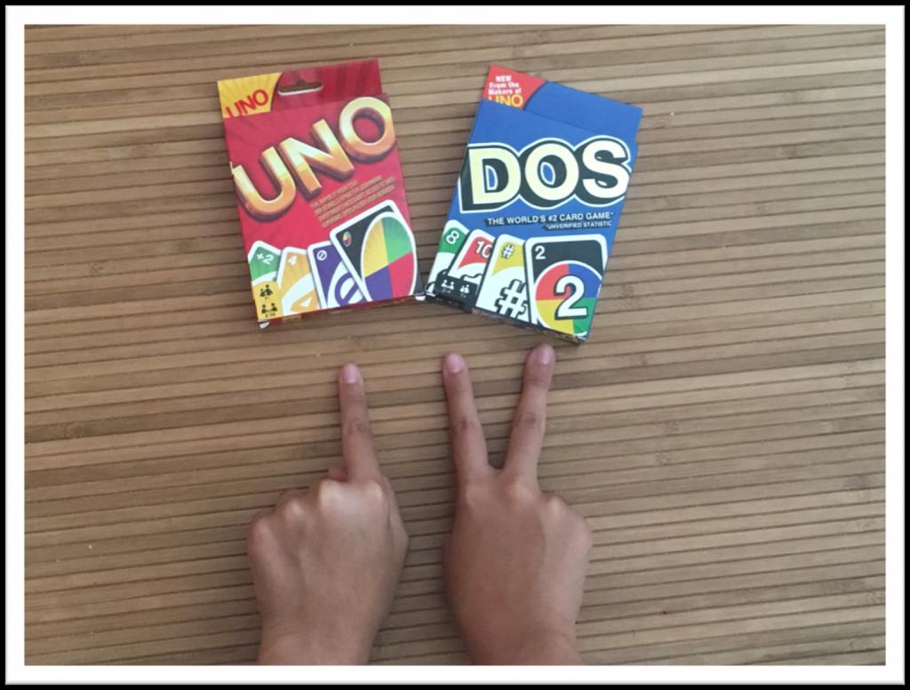 JUEGOS UNO Y DOS